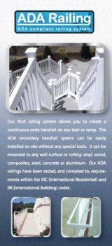 ADA Secondary Handrail Brochure image