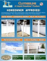 Brochure Cover - Clothesline image