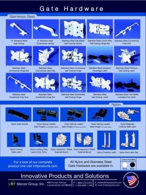Dennisville Fence Product Brochure - LMT 2014 Gate Hardware image