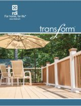 RDI Transform Railing Brochure image