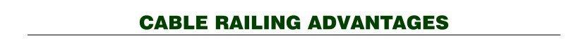 Cable Railing Advantages Title image