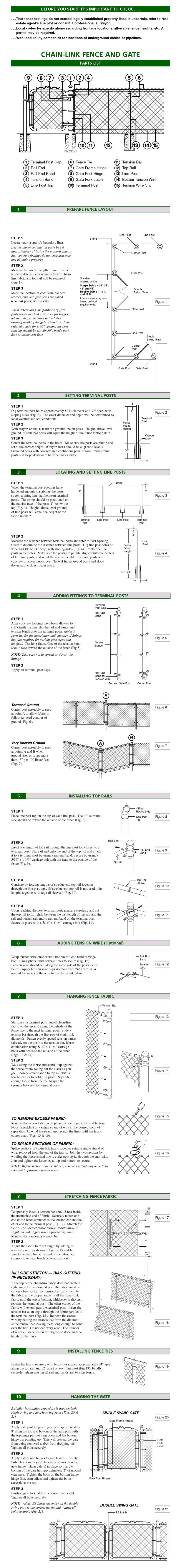 Chain Link Instructions image