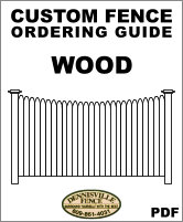 Custom Wood Fence Ordering Guide image