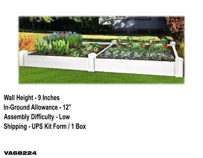 Versailles Raised Garden Bed with Extension Kit image