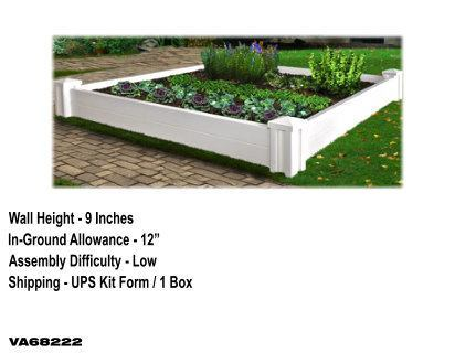Versailles Raised Garden Bed image