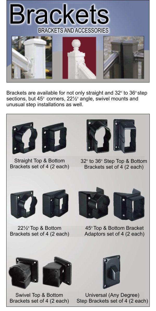 Aluminum Railing Brackets image