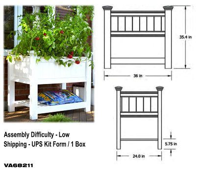 3FT Cambridge Planter Box image