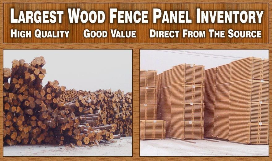 Largest Wood Fence Inventory In South Jersey! High Quality, Good Value, Direct From The Source image