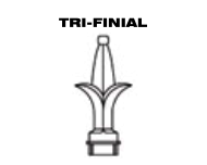 Aluminum Fence - Tri-Finial Post Top image