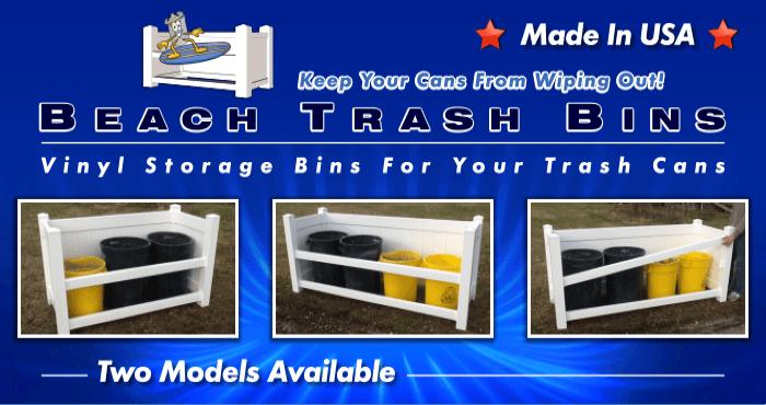 Beach Trash Bins Flyer image