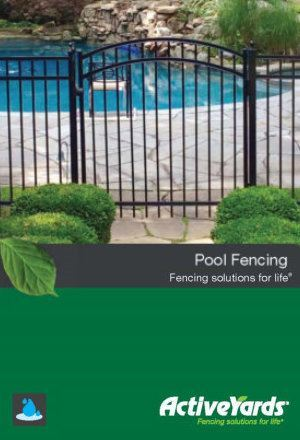 Activeyards Pool Fence Brochure from Dennisville Fence in South Jersey
