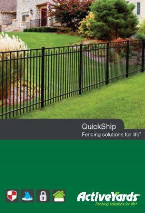 Activeyards Quickship 2016 Brochure from Dennisville Fence in South Jersey