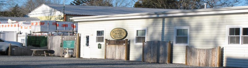 Photo of Dennisville Fence main office located at 16 hall ave. Dennisville, NJ 08270