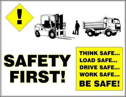 Dennisville Fence's Safety Training Poster