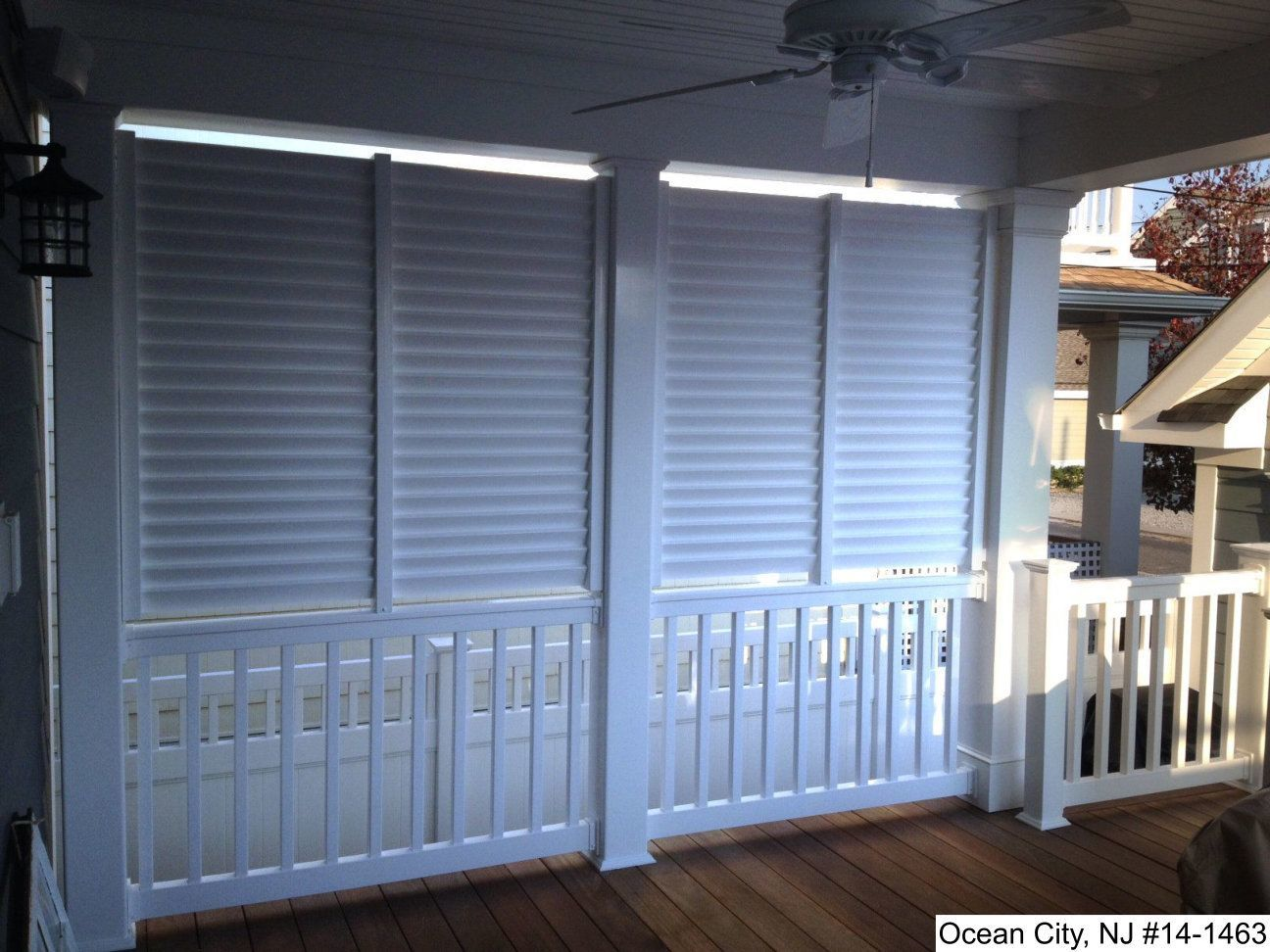 Louvered Privacy Walls Photo Gallery Dennisville Fence