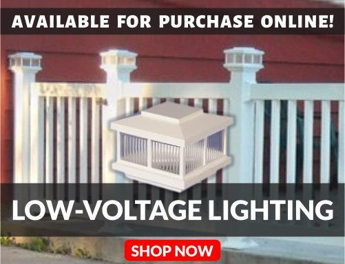 Outdoor Low-Voltage Lighting Available For Purchase Online