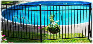 Aluminum Fence Home Series image