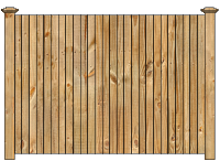Solid Wood Privacy Fence image