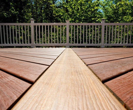 Wolf capped composite decking photo gallery dennisville for Capped composite decking