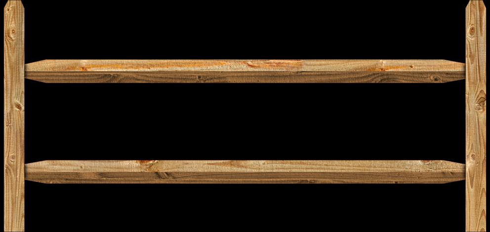 Split rail wood fence dennisville