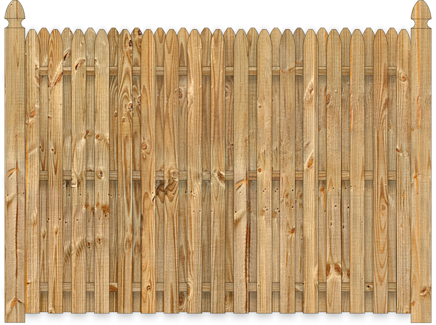 how to build a board on board cedar fence