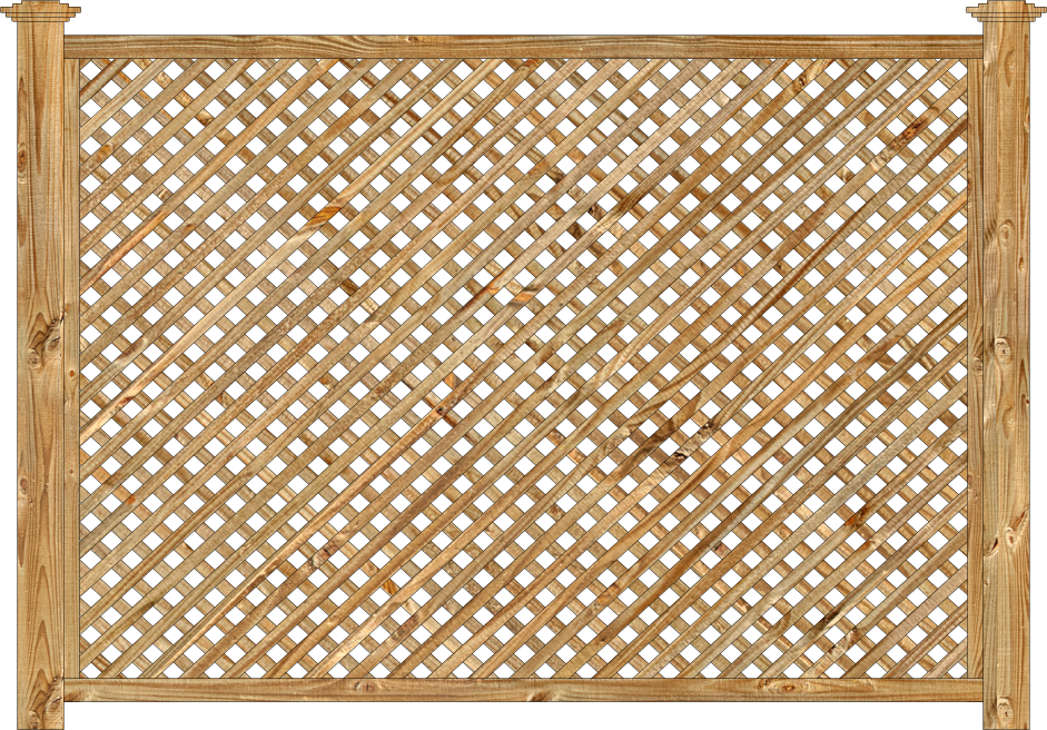 Image gallery lattice panel for Lattice screen fence