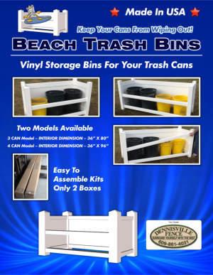 Dennisville Fence - Beach Trash Bins Brochure
