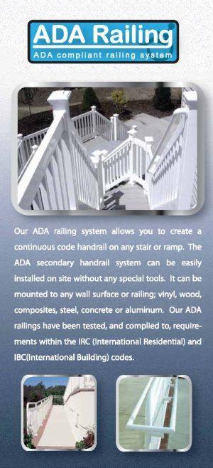 Dennisville Fence Product Brochure - LMT 2014 ADA Railing image