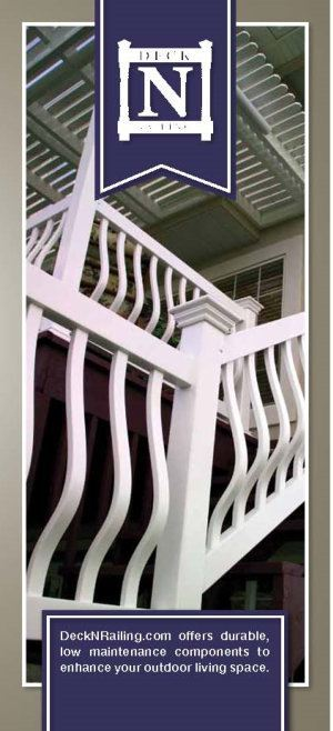 Dennisville Fence Product Brochure - LMT 2014 Deck and Railing image