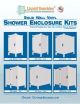 Brochure Cover - Outdoor Shower Enclosures image