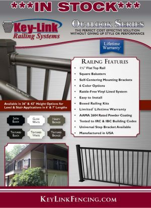Dennisville Fence Product Brochure - Outlook Aluminum Railing Cover image