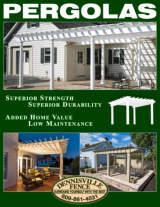 Dennisville Fence Pergolas Brochure