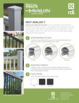 RDI Brochure Cover Image for Avalon Aluminum Railing
