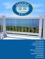 Seaview Railing Brochure Cover image