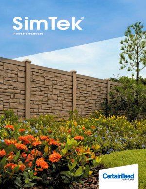 SimTek Fence Brochure for 2018