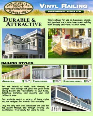 Vinyl Railing Brochure Cover image