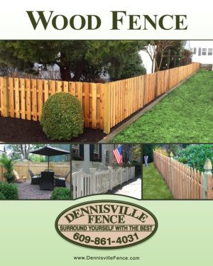 Dennisville Fence Product Brochure -- Wood Fence