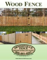 Dennisville Fence Product Brochure - Wood Fence