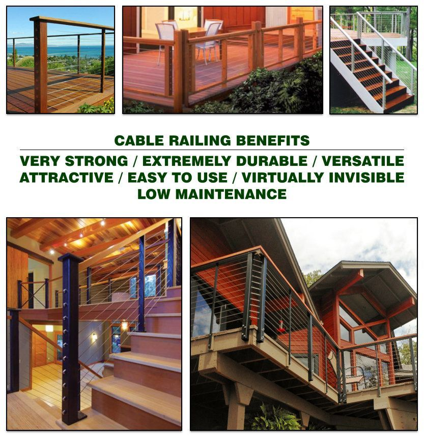 Cable Railing Benefits and Photos image