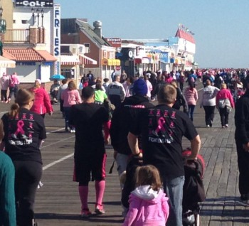 Ocean City Cancer Walk in 2013 image3