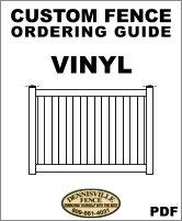 Custom Vinyl Fence Ordering Guide image