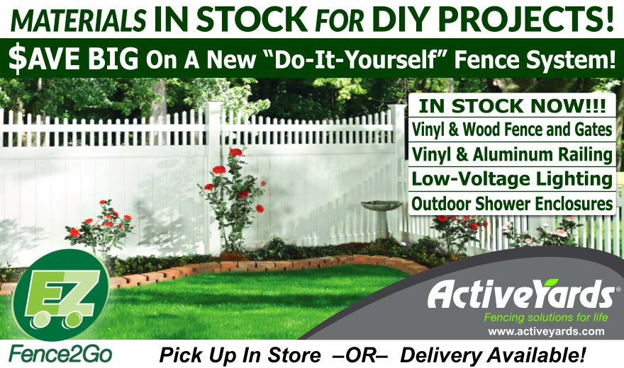 Materials In Stock For DIY Projects