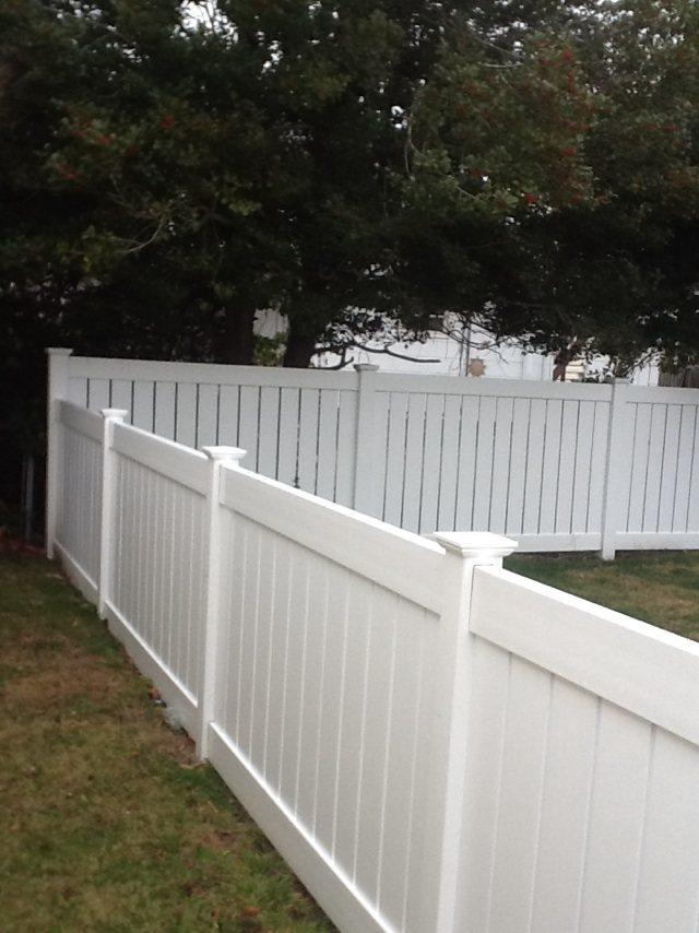 Vinyl Fence Photo Gallery Dennisville Fence