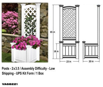 Kensington Trellis Planter Box image