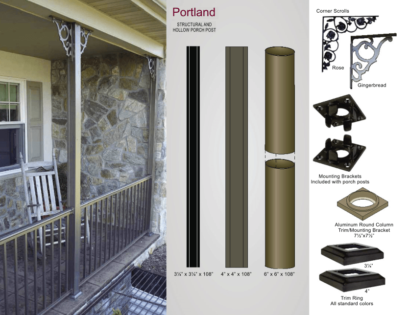 Aluminum Railing Brackets and Accessories image