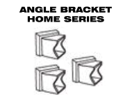 Aluminum Fence - Gate Hardware - Angle Brackets for Home Series image