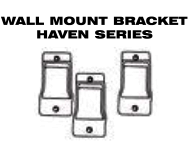 Aluminum Fence - Gate Hardware - Wall Mount Brackets for Haven Series image
