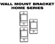Aluminum Fence - Gate Hardware - Wall Mount Brackets for Home Series image