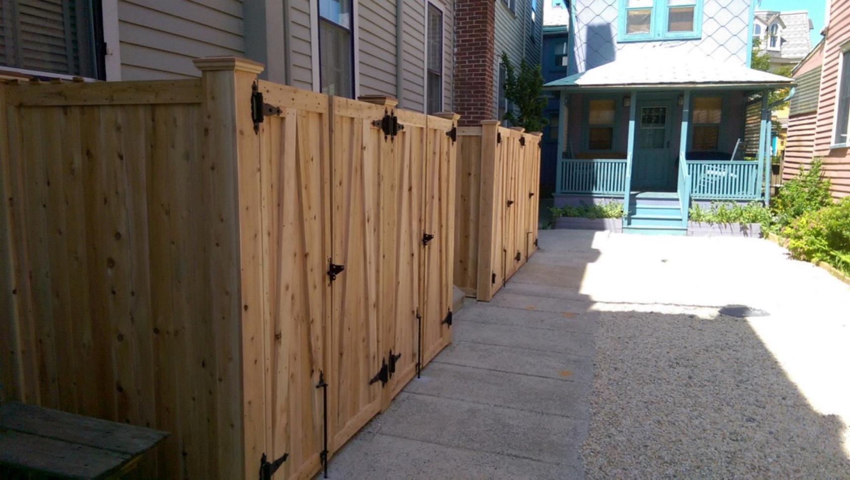 Wood Fence Photos Dennisville Fence