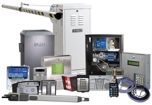 Gate Systems and Access Control Solution components image